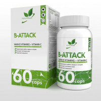 Витамины NaturalSupp B-Attack 60 капс.