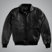Куртка мужская AIRFORCE JACKET LEATHER Черный