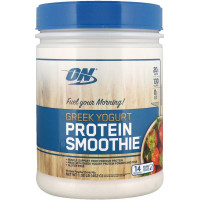 Протеин Optimum Nutrition Greek Yogurt, Protein Smoothie, клубника, 462 г