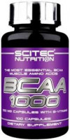 BCAA Scitec Nutrition BCAA 1000 100 капс.