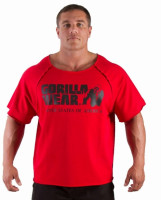 Футболка Gorilla wear Classic Work Out Top red арт 90107.